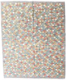 Kelim Afghan Old Style Matto 161X195 Itämainen Käsinkudottu Vaaleanharmaa/Beige (Villa, Afganistan)