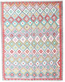 Kelim Afghan Old Style Matto 153X195 Itämainen Käsinkudottu Valkoinen/Creme/Vaaleansininen (Villa, Afganistan)