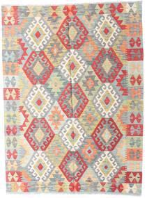 Kelim Afghan Old Style Matto 149X201 Itämainen Käsinkudottu Vaaleanharmaa/Beige (Villa, Afganistan)