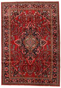 Lillian Matto 221X319 Itämainen Käsinsolmittu Tummanpunainen/Tummanruskea (Villa, Persia/Iran)