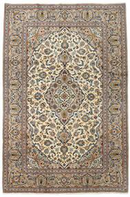 Keshan Matto 200X300 Itämainen Käsinsolmittu Beige/Musta (Villa, Persia/Iran)