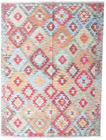 Kelim Afghan Old Style Matto 150X199 Itämainen Käsinkudottu Vaaleanharmaa/Vaaleanpunainen (Villa, Afganistan)