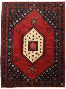 Klardasht Matto 218X282 Itämainen Käsinsolmittu Musta/Tummanpunainen (Villa, Persia/Iran)