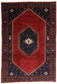 Klardasht Matto 203X300 Itämainen Käsinsolmittu Tummanpunainen/Musta (Villa, Persia/Iran)