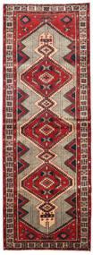 Ardebil Matto 100X283 Itämainen Käsinsolmittu Käytävämatto Tummanruskea/Tummanpunainen (Villa, Persia/Iran)