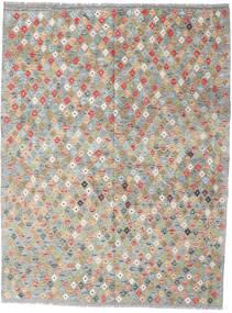 Kelim Afghan Old Style Matto 179X234 Itämainen Käsinkudottu Vaaleanharmaa (Villa, Afganistan)