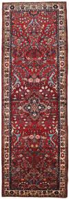 Mehraban Matto 108X316 Itämainen Käsinsolmittu Käytävämatto Tummanpunainen/Ruskea (Villa, Persia/Iran)