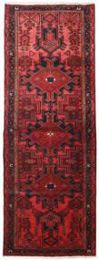 Hamadan Matto 109X306 Itämainen Käsinsolmittu Käytävämatto Tummanpunainen/Punainen (Villa, Persia/Iran)