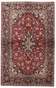 Keshan Matto 137X218 Itämainen Käsinsolmittu Tummanpunainen/Musta (Villa, Persia/Iran)