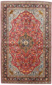Sarough Matto 133X217 Itämainen Käsinsolmittu Tummanpunainen/Musta (Villa, Persia/Iran)
