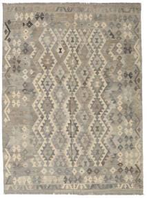 Kelim Afghan Old Style Matto 187X290 Itämainen Käsinkudottu Vaaleanharmaa (Villa, Afganistan)