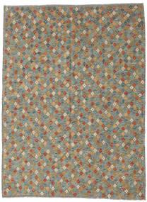 Kelim Afghan Old Style Matto 208X291 Itämainen Käsinkudottu Tummanharmaa/Vaaleanharmaa (Villa, Afganistan)