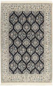 Nain 6La Matto 146X233 Itämainen Käsinkudottu Vaaleanharmaa/Beige (Villa/Silkki, Persia/Iran)