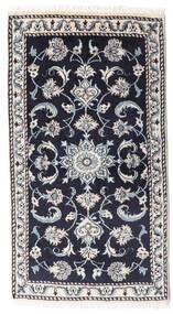 Nain Matto 69X126 Itämainen Käsinsolmittu Tummanvioletti/Tummanharmaa (Villa, Persia/Iran)