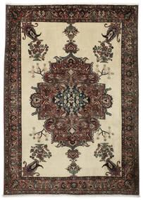 Bakhtiar Matto 222X308 Itämainen Käsinsolmittu Tummanruskea/Tummanbeige (Villa, Persia/Iran)