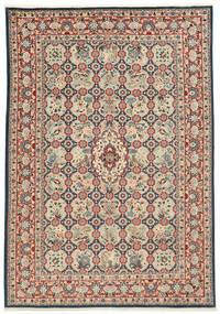 Varamin Matto 203X285 Itämainen Käsinsolmittu (Villa/Silkki, Persia/Iran)