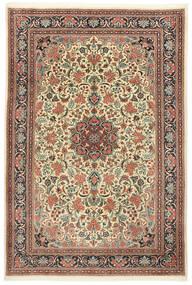 Sarough Matto 210X295 Itämainen Käsinsolmittu Beige/Vaaleanruskea (Villa, Persia/Iran)