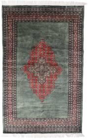 Pakistan Bokhara 3Ply Matto 135X215 Itämainen Käsinsolmittu Tummanharmaa/Vaaleanharmaa (Villa, Pakistan)