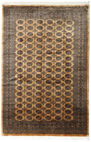 Pakistan Bokhara 3Ply Matto 185X278 Itämainen Käsinsolmittu Ruskea/Tummanharmaa (Villa, Pakistan)
