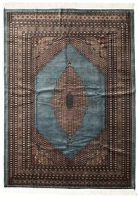 Pakistan Bokhara 3Ply Matto 207X284 Itämainen Käsinsolmittu Tummanharmaa/Musta (Villa, Pakistan)