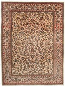 Sarough Matto 274X357 Itämainen Käsinsolmittu Tummanruskea/Vaaleanruskea Isot (Villa, Persia/Iran)