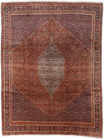 Bidjar Matto 285X374 Itämainen Käsinsolmittu Tummanruskea/Tummanpunainen Isot (Villa, Persia/Iran)