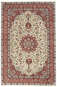 Kashmar Matto 203X303 Itämainen Käsinsolmittu Beige/Tummanharmaa (Villa, Persia/Iran)