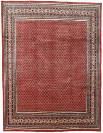 Sarough Mir Matto 280X367 Itämainen Käsinsolmittu Tummanpunainen/Tummanruskea Isot (Villa, Persia/Iran)