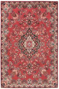Moud Matto 208X317 Itämainen Käsinsolmittu (Villa/Silkki, Persia/Iran)
