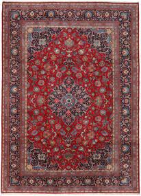 Keshan Matto 282X392 Itämainen Käsinsolmittu Tummanpunainen/Tummanruskea Isot (Villa, Persia/Iran)