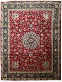 Tabriz Matto 301X403 Itämainen Käsinsolmittu Tummanpunainen/Musta Isot (Villa, Persia/Iran)