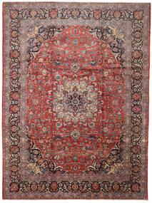 Keshan Matto 288X388 Itämainen Käsinsolmittu Tummanpunainen/Tummanruskea Isot (Villa, Persia/Iran)