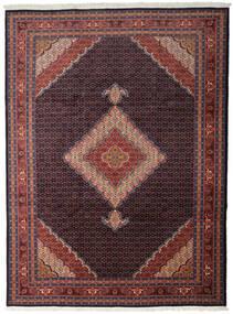 Ardebil Matto 277X376 Itämainen Käsinsolmittu Tummanpunainen/Tummanruskea Isot (Villa, Persia/Iran)