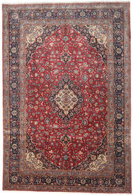 Keshan Matto 276X410 Itämainen Käsinsolmittu Tummanpunainen/Tummanruskea Isot (Villa, Persia/Iran)