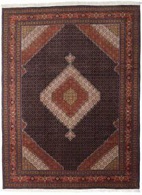 Ardebil Matto 290X390 Itämainen Käsinsolmittu Tummanpunainen/Musta Isot (Villa, Persia/Iran)