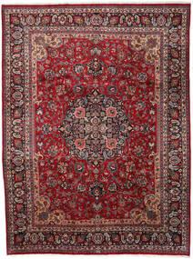 Mashad Matto 290X387 Itämainen Käsinsolmittu Tummanpunainen/Tummanharmaa Isot (Villa, Persia/Iran)
