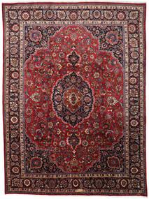 Mashad Matto 297X402 Itämainen Käsinsolmittu Tummanpunainen/Ruskea Isot (Villa, Persia/Iran)