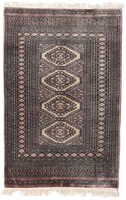 Pakistan Bokhara 2Ply Matto 78X119 Itämainen Käsinsolmittu Tummanruskea/Vaaleanruskea (Villa, Pakistan)