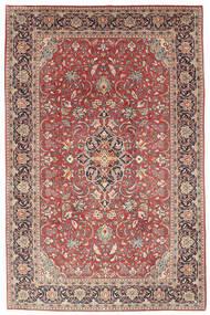 Sarough Matto 192X292 Itämainen Käsinsolmittu Ruskea/Beige (Villa, Persia/Iran)