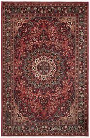 Moud Matto 195X295 Itämainen Käsinsolmittu Tummanpunainen/Tummanruskea (Villa/Silkki, Persia/Iran)