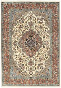 Sarough Matto 202X295 Itämainen Käsinsolmittu Vaaleanruskea/Tummanbeige (Villa, Persia/Iran)