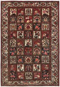 Bakhtiar Matto 210X300 Itämainen Käsinsolmittu Tummanpunainen/Tummanruskea (Villa, Persia/Iran)