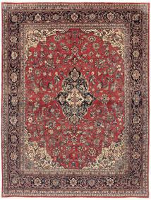 Arak Matto 232X302 Itämainen Käsinsolmittu Tummanpunainen/Tummanruskea (Villa, Persia/Iran)