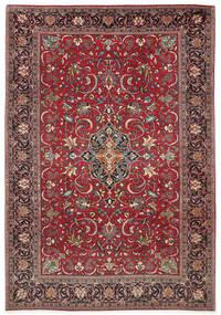 Sarough Matto 210X305 Itämainen Käsinsolmittu Tummanpunainen/Tummanruskea (Villa, Persia/Iran)