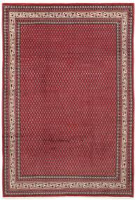 Sarough Mir Matto 212X310 Itämainen Käsinsolmittu Punainen/Tummanpunainen (Villa, Persia/Iran)
