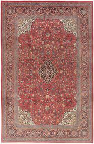 Arak Matto 208X310 Itämainen Käsinsolmittu Tummanpunainen/Ruskea (Villa, Persia/Iran)
