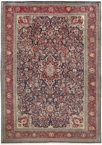 Sarough Matto 222X312 Itämainen Käsinsolmittu Vaaleanharmaa/Tummanpunainen (Villa, Persia/Iran)