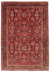Nanadj Matto 225X318 Itämainen Käsinsolmittu Tummanpunainen (Villa, Persia/Iran)