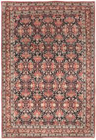 Bidjar Matto 214X319 Itämainen Käsinsolmittu Tummanpunainen/Tummanruskea (Villa, Persia/Iran)