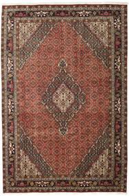 Ardebil Matto 200X298 Itämainen Käsinsolmittu Tummanruskea/Tummanpunainen (Villa, Persia/Iran)